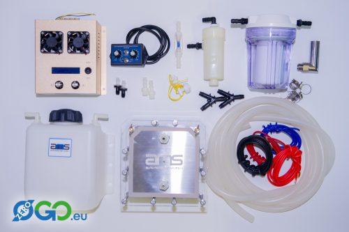 HHO, Watergas componenten